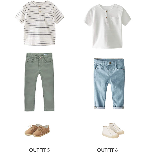 2 cute and casual boys Easter outfit idea