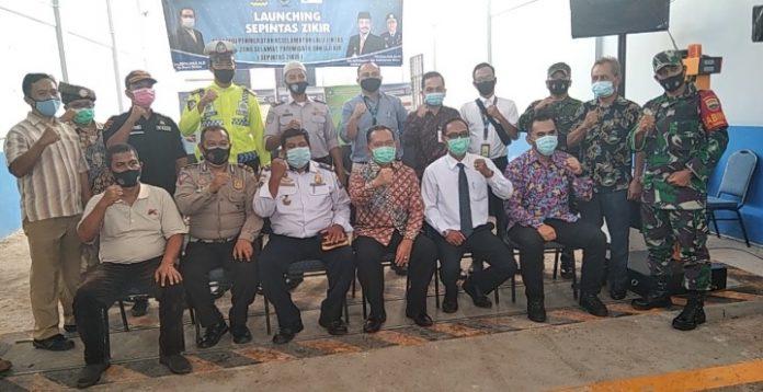 Pjs Bupati Bintan Melaunching Strategi Peningkatan Keselamatan Lalu Lintas Melalui Zona Sepintas Zikir