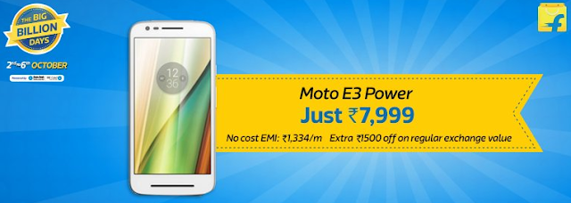 Flipkart The Big Billion Days Sale - Day 2 - All Mobiles Deals at One Place