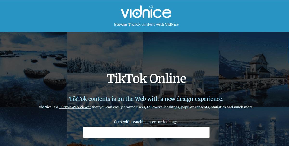 Vidnice 網頁版 TikTok 抖音檢視器