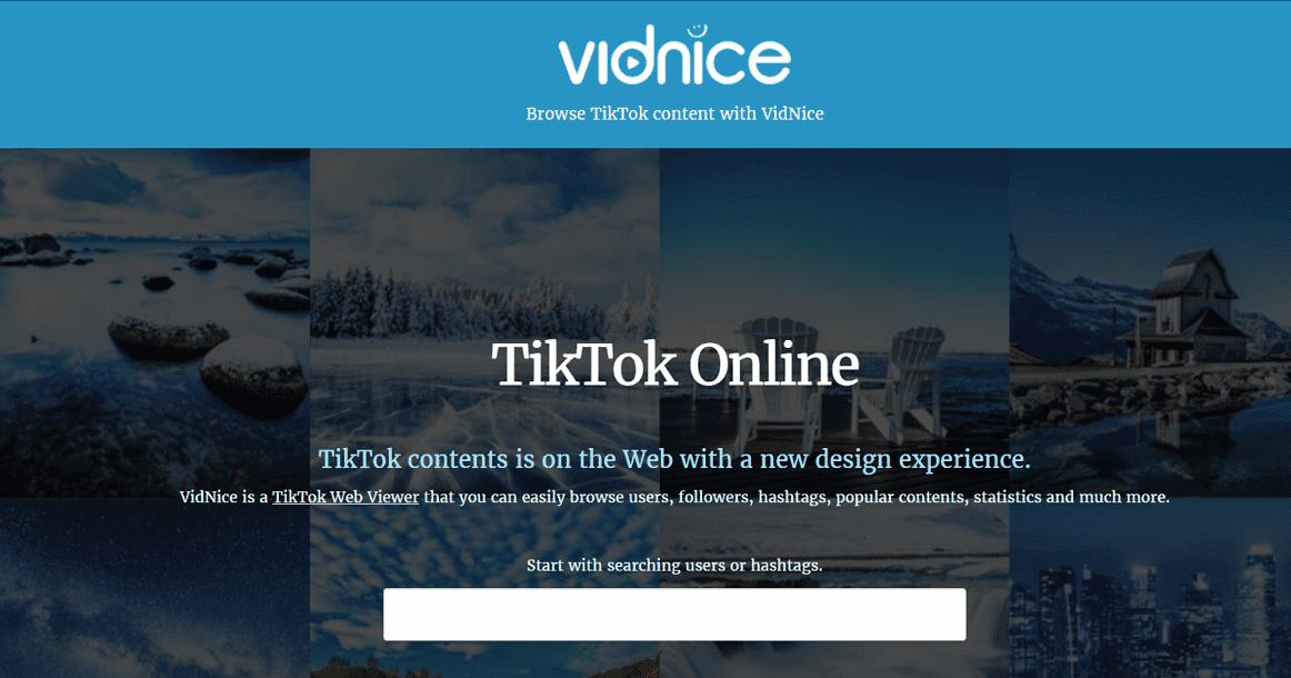 Vidnice 網頁版 TikTok 抖音檢視器,電腦追蹤用戶、觀看&下載影片 - 逍遙の窩