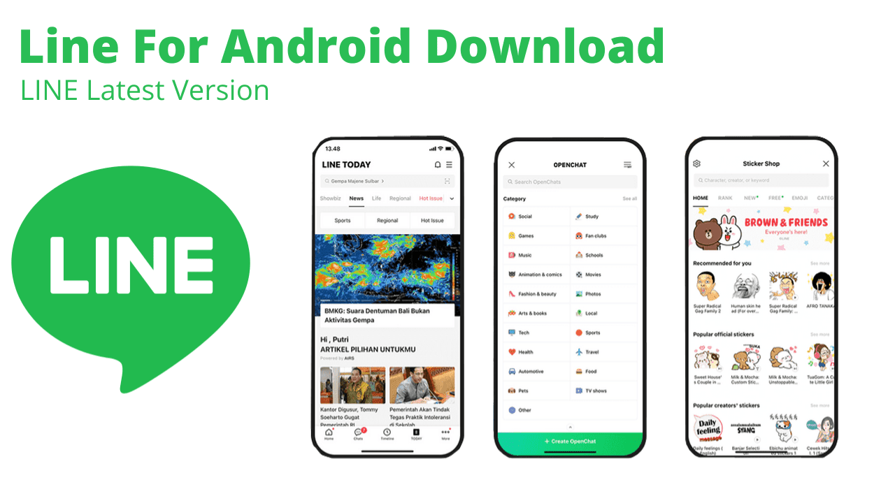 Line For Android Download APK Latest Version