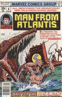 Marvel Comics Man From Atlantis #6
