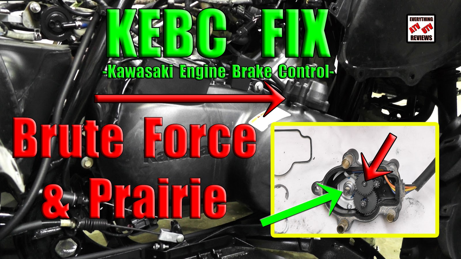 Kawasaki Brute Force 750 4x4 Wiring Diagram Building Electrical Symbols Everything Atv Utv Reviews How To Take A Part The Kebc