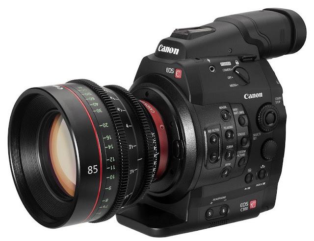 Canon EOS C300 Cinema Camera body (EF mount) $6,953