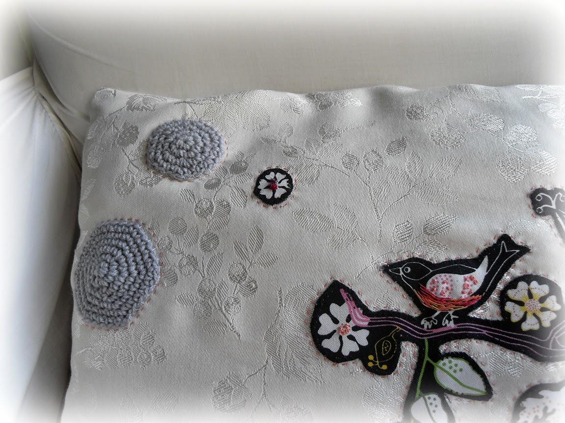 THE FABRIC OF MEDITATION - SARA LECHNER'S BLOG: Cushion ...