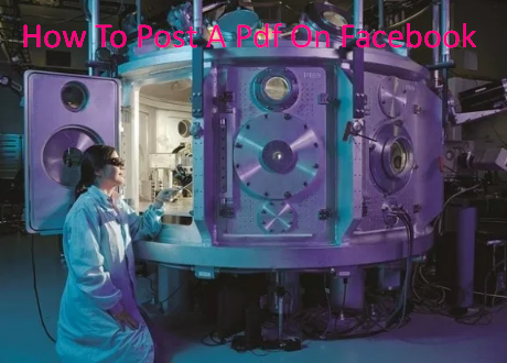 How To Post A Pdf On Facebook