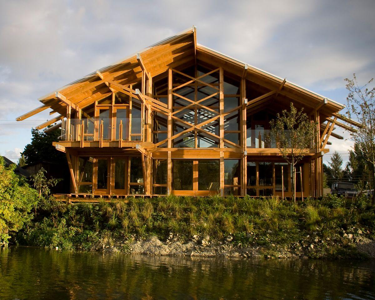 Ventajas y desventajas medioambientales de la madera en for Construccion de casas