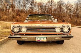 1967 Plymouth Belvedere GTX 426 Hemi Front