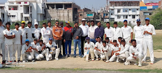 स्व. अखिलानंद अण्डर 17 क्रिकेट में आजमगढ़ ने जौनपुर को, वाराणसी ने मऊ को हराया | #NayaSaberaNetwork