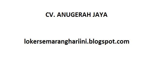 CV. ANUGERAH JAYA