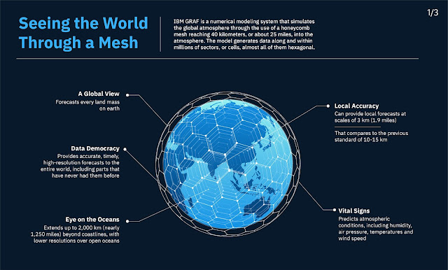 Infographic Attribute: Seeing the world through the mesh / Source: IBM