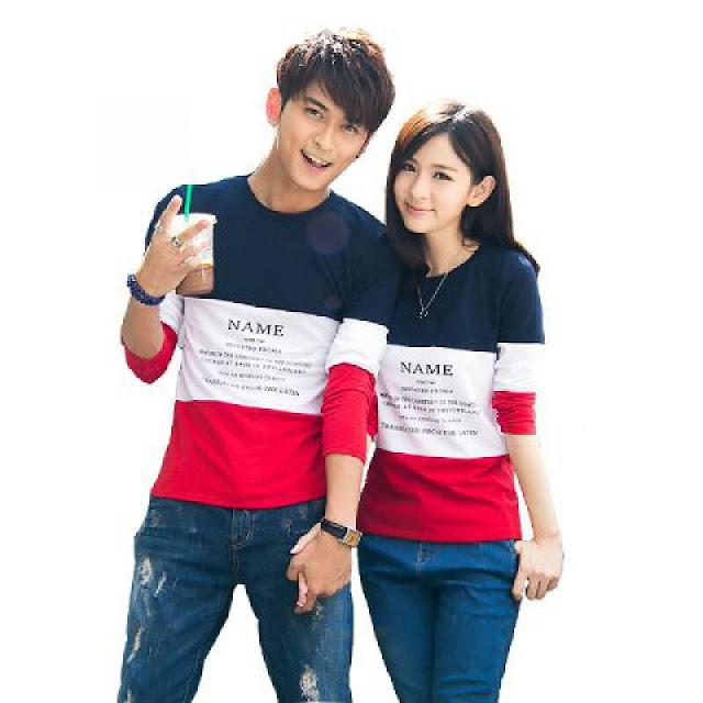 Model Baju Kaos Couple Super Keren Bikin Kalian Nampak Mesra, CP05
