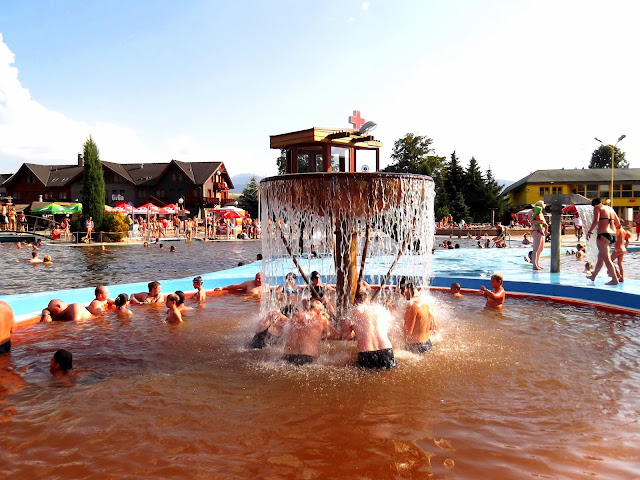 Gorące źródła Aquapark Gino Paradise Besenova