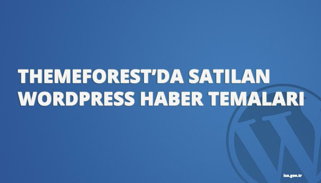 wordpress haber temaları