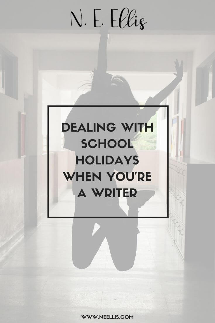 Dealing With School Holidays When You're A Writer | Prioritising, and taking your writing with you, will help you deal with school holidays.