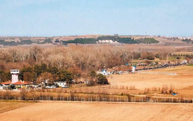 Οι Τούρκοι διεκδικούν 16 στρέμματα Ελληνικού εδάφους ενόψει επέκτασης του φράχτη στον Νότιο Έβρο