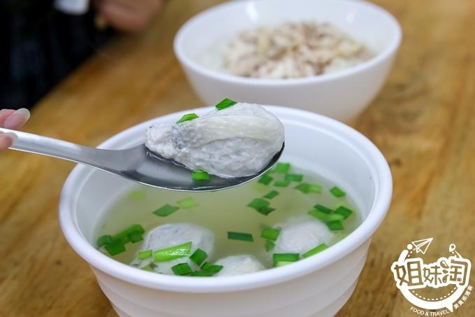 這間爆漿魚肚丸湯跟手撕雞肉飯照三餐吃都不會膩-小林雞肉飯