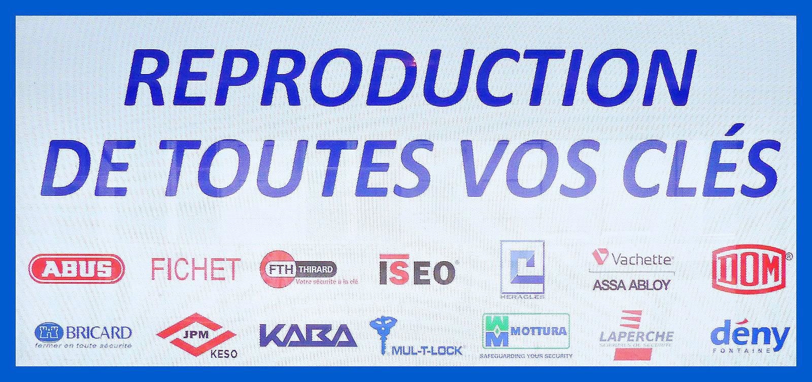 Reproduction Clés - Tourcoing