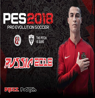 PES 2018 PS2 Blezz Patch English World Cup 2018 Edition