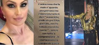 Eva Henger risposta Alessia Marcuzzi