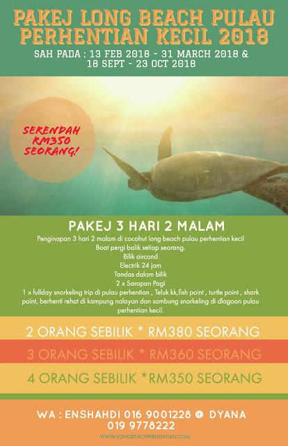 Pakej Pulau Perhentian Kecil 2018 , Pakej Pulau Pehrentian Besar 2018 , Pakej Pulau Perhentian