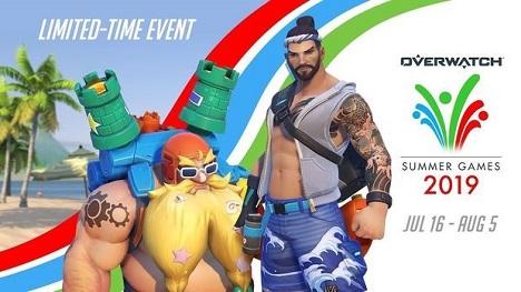 Overwatch - Seasonal Event: Summer Games Trailer