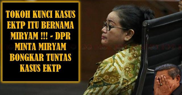 MIRYAM Diminta Bongkar Tuntas Kasus EKTP !!