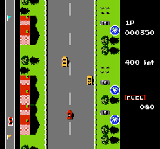 Road Fighter Atari