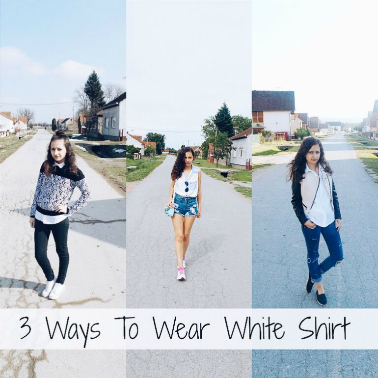 fashion with valentina,fashion with valentina blog,fwvblog,fwv blog,fashion blogger valentina,valentina batrac,croatian fashion bloggers,hrvatske fashion blogerice,how to wear white shirt,white shirt outfit ideas,fall winter 2015 outfits,3 Ways To Wear White Shirt