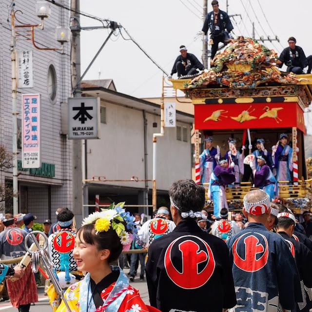小鹿野 春祭り 山車