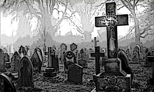 El niño fantasma del cementerio