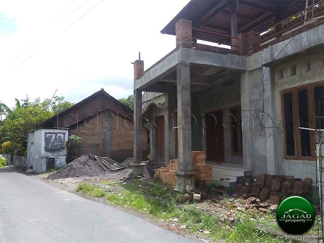 Rumah 2 Lantai jalan Wonosari Km 12