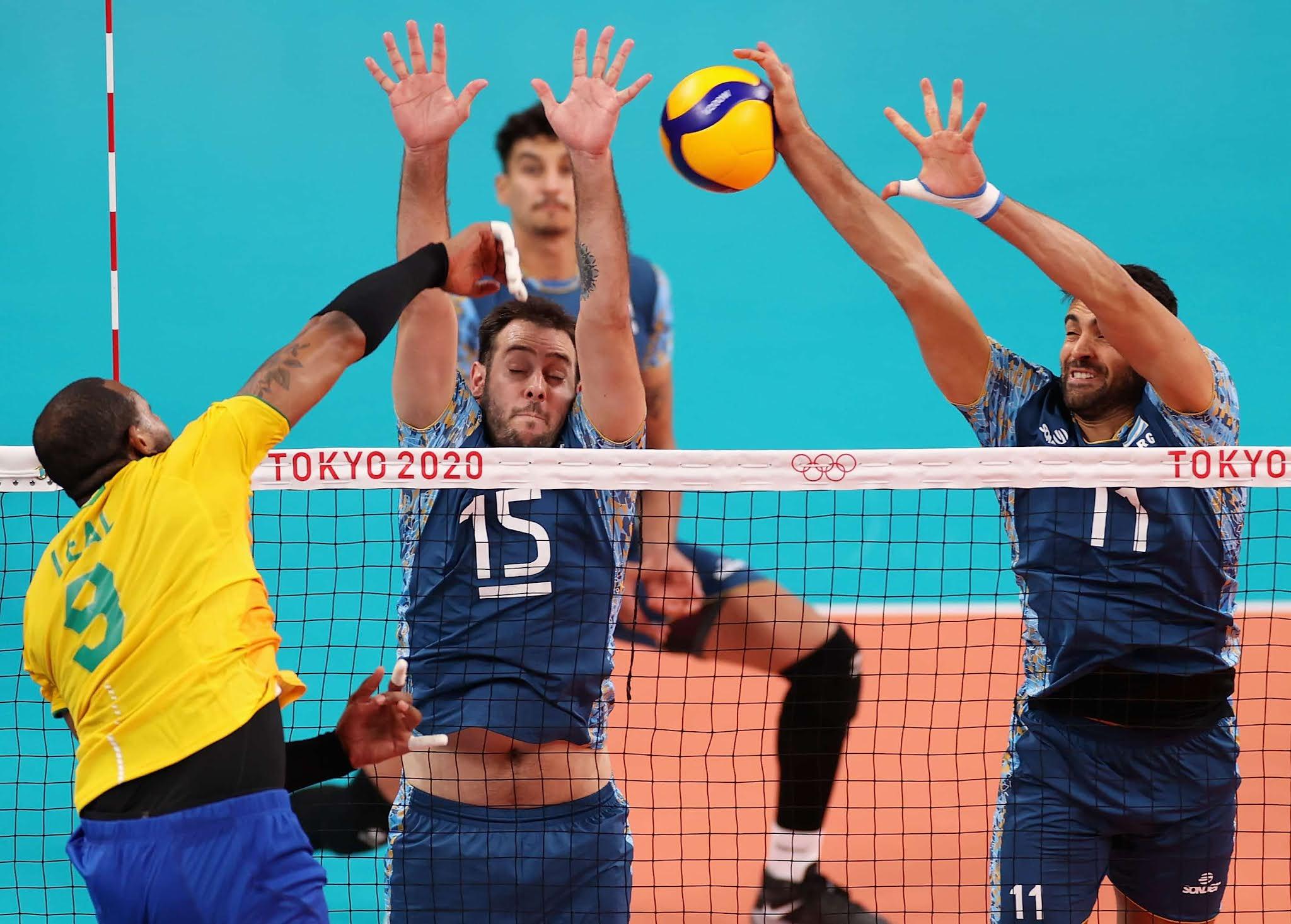 Argentina jugó un gran partido pero perdió contra Brasil en su segunda presentación en Tokio 2020