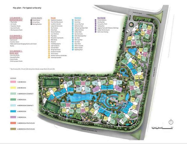 Dnest @ Pasir Ris Grove Site Plan