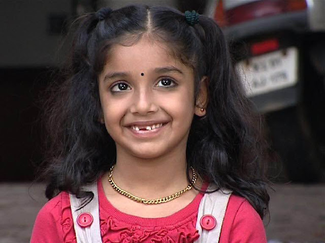 Child Actress Shradha as Malu in Pranayam Serial