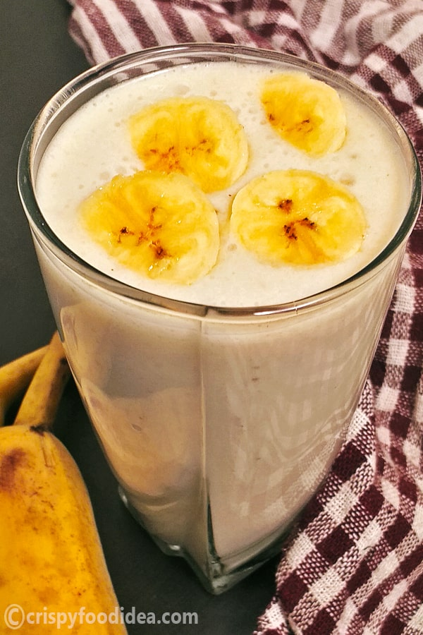 easy banana smoothie recipe