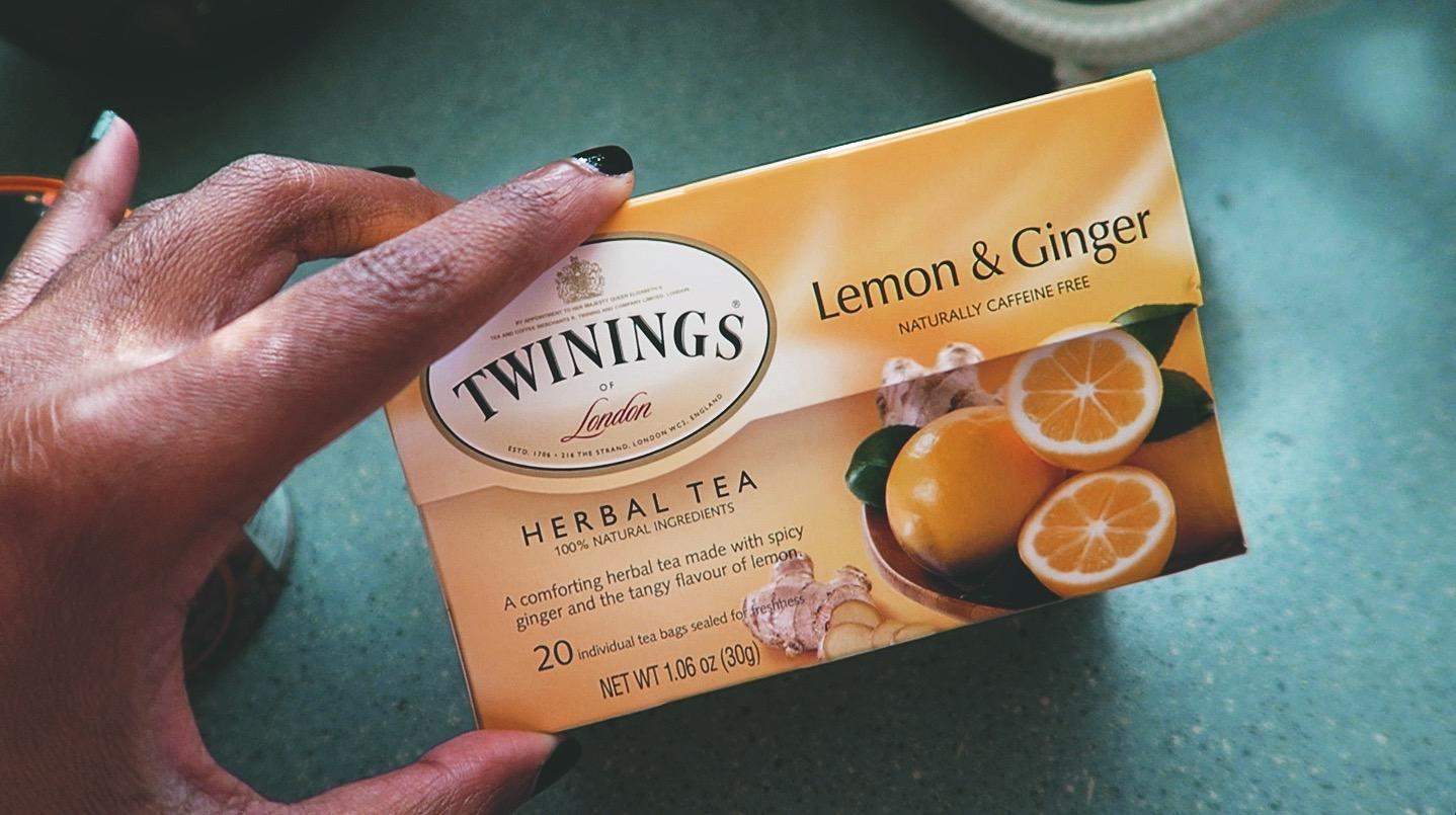 Quick Breakfast Goodie: Lemon Ginger Versus Peach Almond