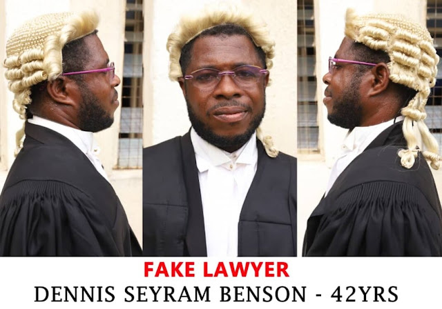 42 Years Fake Lawyer Arrested, Police Release Statement (Photos)