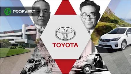 Компания Toyota: история развития известного бренда