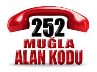 0252 Muğla telefon alan kodu