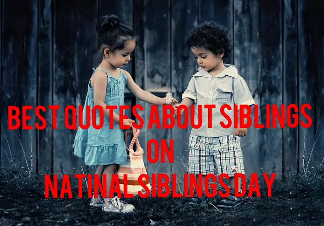 Image of best quotes on siblings