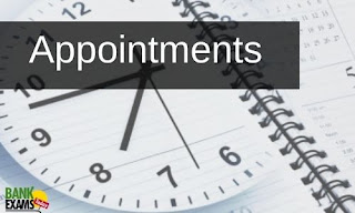 Appointments on 29th May 2021
