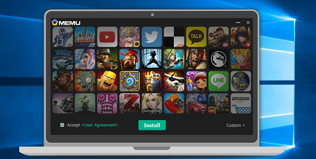 graphics: MEmu - android emulator