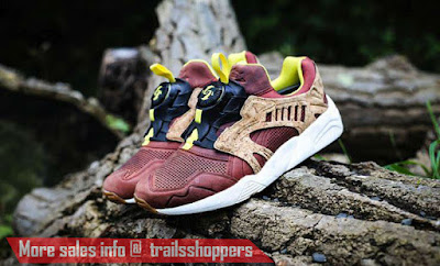 Puma leather disc cage lux opt 2 Shoes