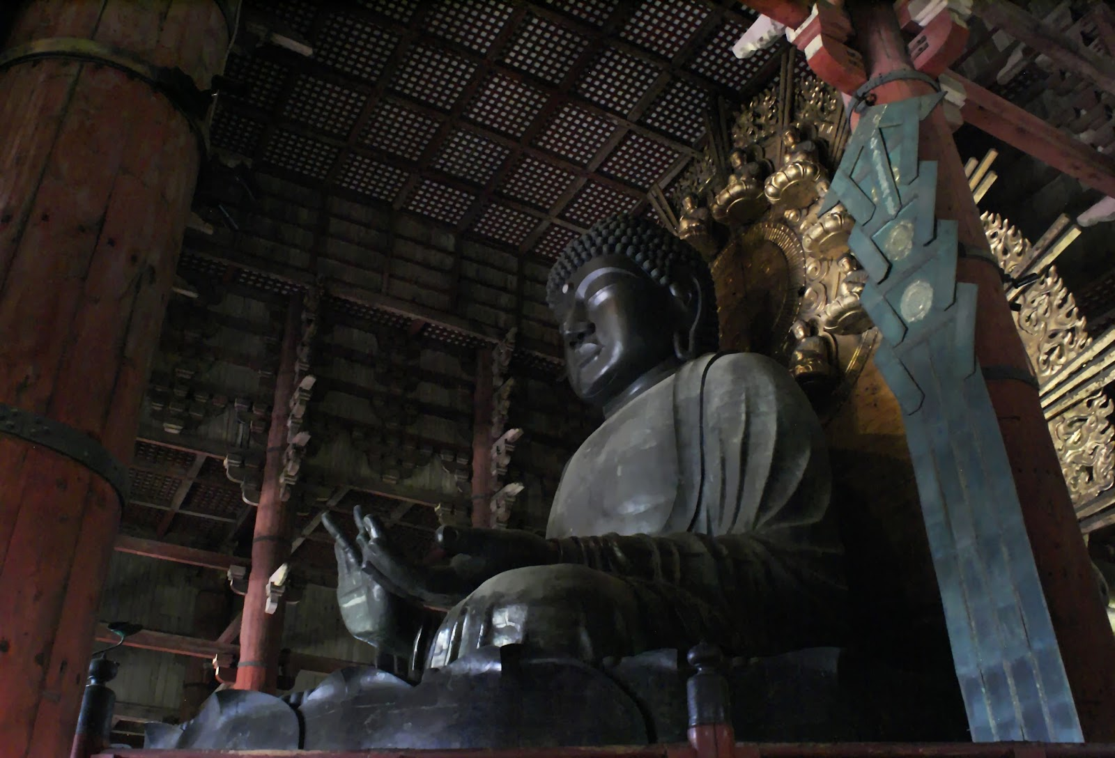 nara todai ji buddhist temple daibutsu buddha japan asia