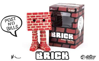 The Brick Vinyl Figure by Kyle Kirwan x Clutter