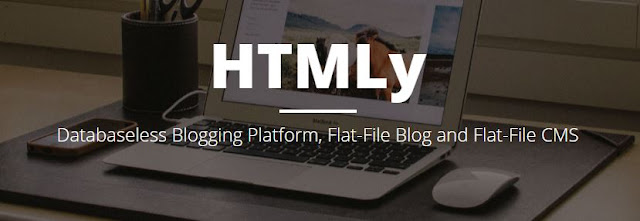 HTMLy, blogging platform ringan 2016