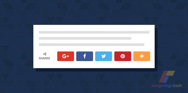 Membuat Social Share Button Ala Berminat Template