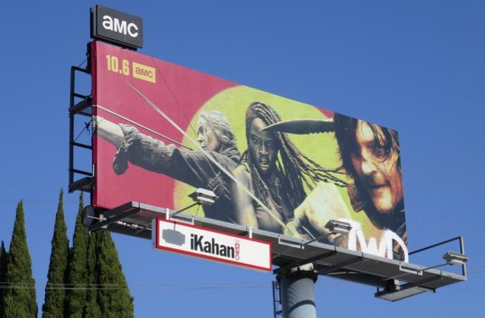 The Walking Dead season 10 billboard